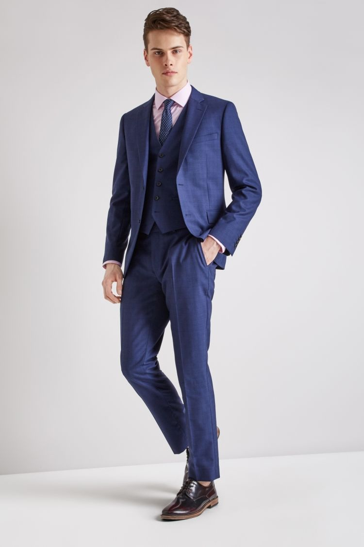 c6fcff535b7e3f DKNY Slim Fit Ink Scratch Suit in 2019 | Three Piece Suits | Wedding ...