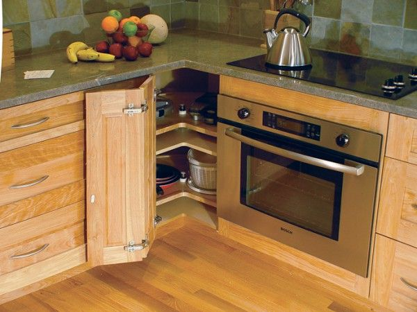 Wonderful Blind Corner Cabinet Systems With Rev A Shelf 2 Tier Wood Pie Cut Cabinet  Lazy Susan Also Black Ceramic Electric Hob Of Kitchen Cabinet