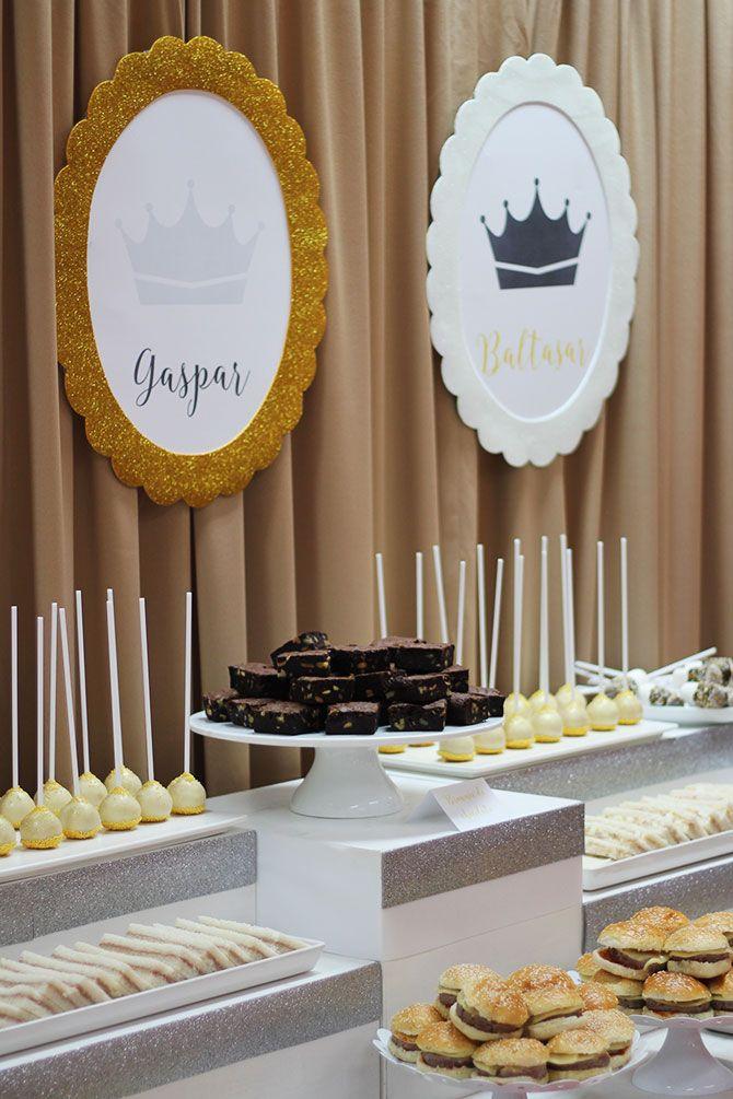 Nice party decoraci n fiesta de los reyes magos mesa de for Decoracion para reyes