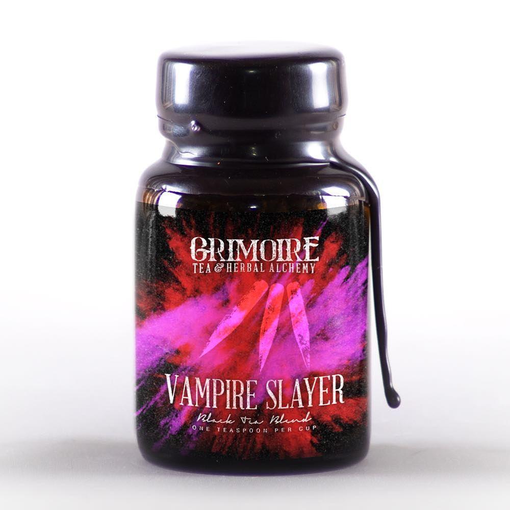 Vampire Slayer tea @grimoiretea