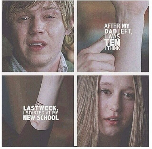 Tate and Violet // American Horror Story - Season 1: Murder House