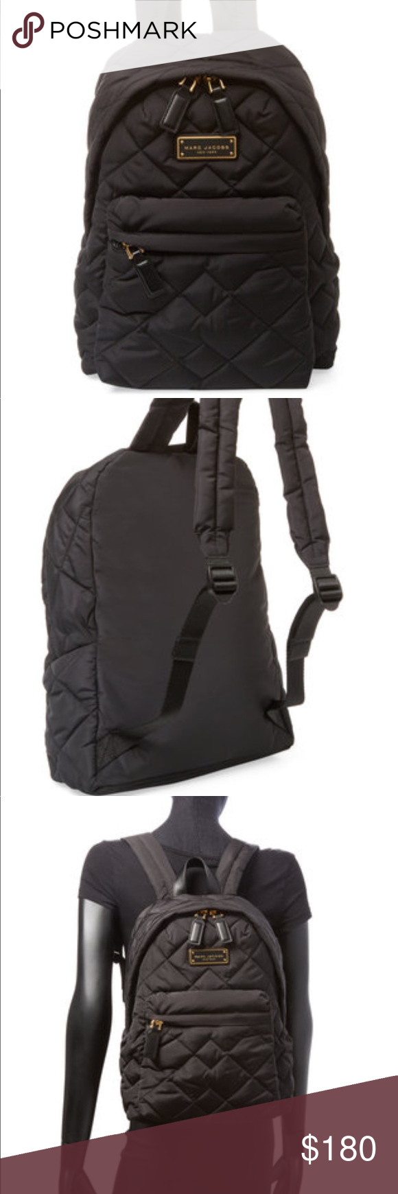 c603670e865 Quilted Nylon Backpack Marc Jacobs- Fenix Toulouse Handball