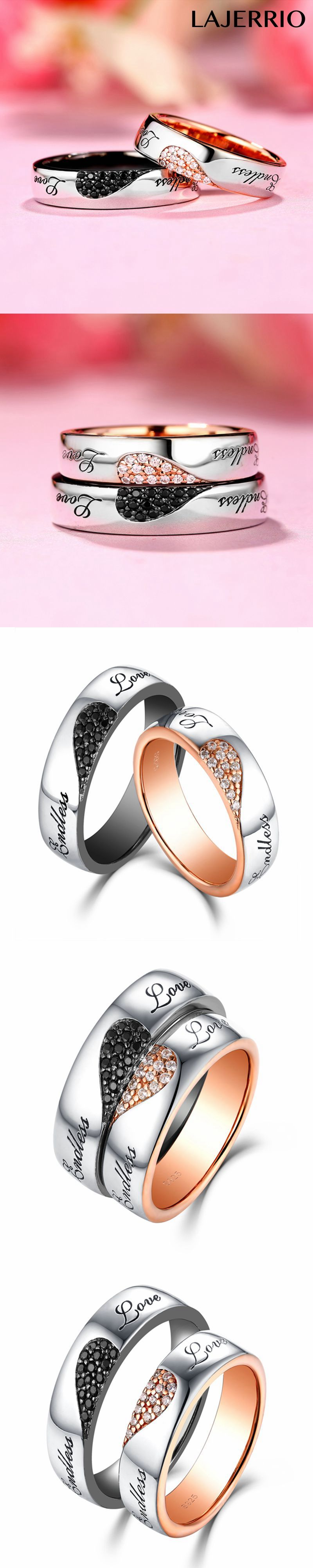 endless itm special pave engagement her double infinity anniversary love gold for rings gift hearts uniqe two diamond white ring knot size