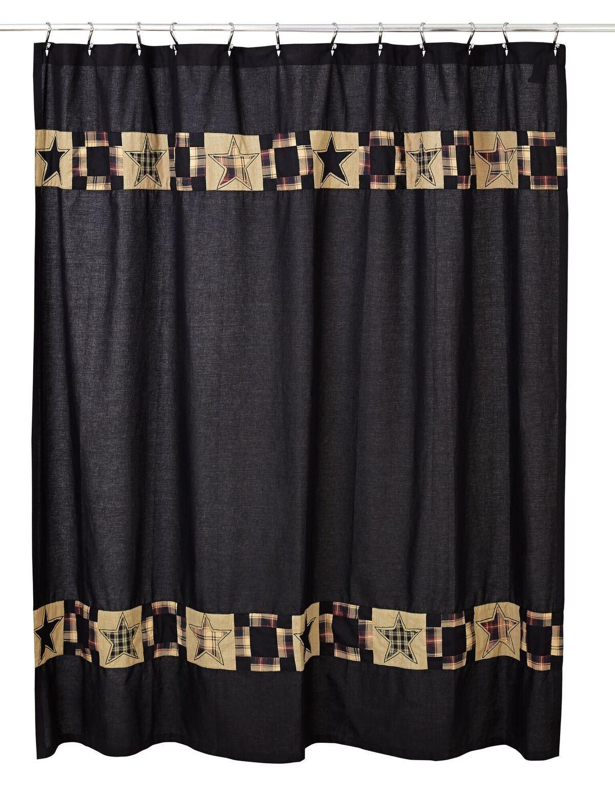 Revere Shower Curtain Primitive Bathrooms Primitive Bathroom