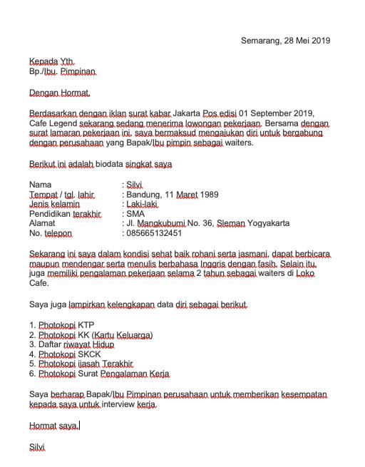 Contoh Surat Keterangan Selesai Kerja - Download Kumpulan ...