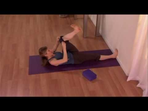 yoga hip stretchyoga tune up®  leg stretch with yoga
