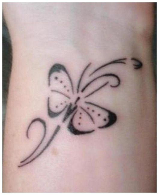 Butterfly Tattoos On Hip Meaning Butterfly Tattoos On Wrist Meaning