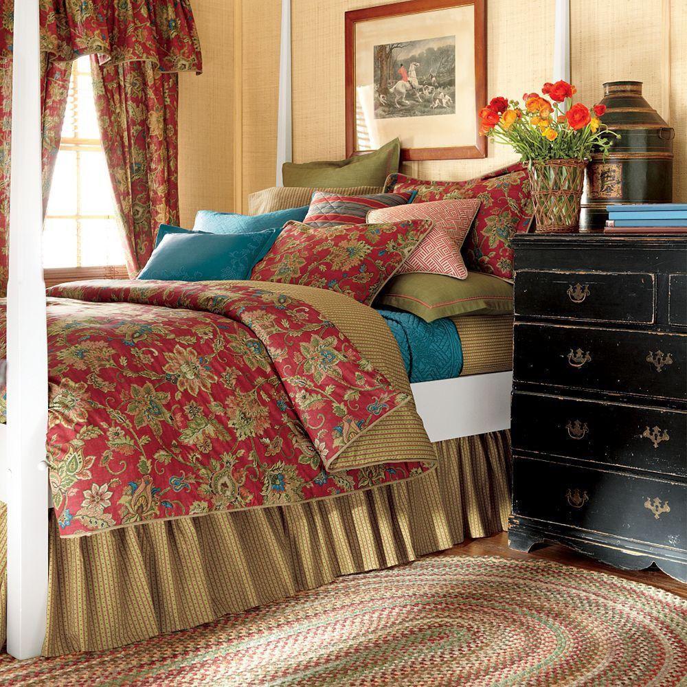 Nwot Chaps Ralph Lauren Annabelle King Duvet Comforter
