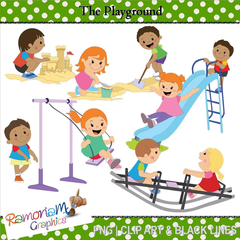 Playground Clip art | Children play and Playground