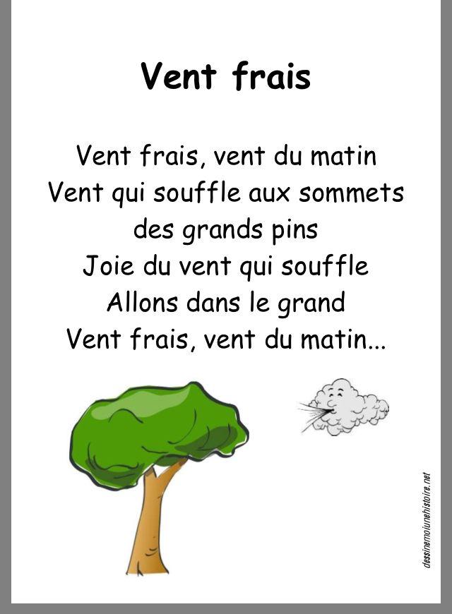 Vent Frais Vent Du Matin : frais, matin, Idées, Canon, Chant, Enfant,, Comptine, école,, Automne