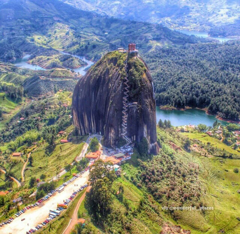 Cool Places In Colorado: Holy Rock In Medellin Columbia