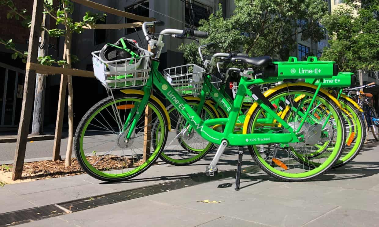 Electric Bike Sharing Company Lime Launches In Uk With Images