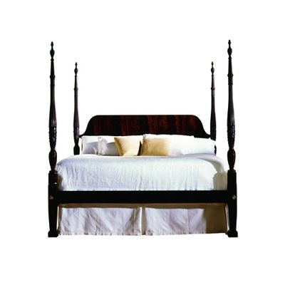 Rice carved poster bed king 3316 6 6 councill councill for Where can you buy beds
