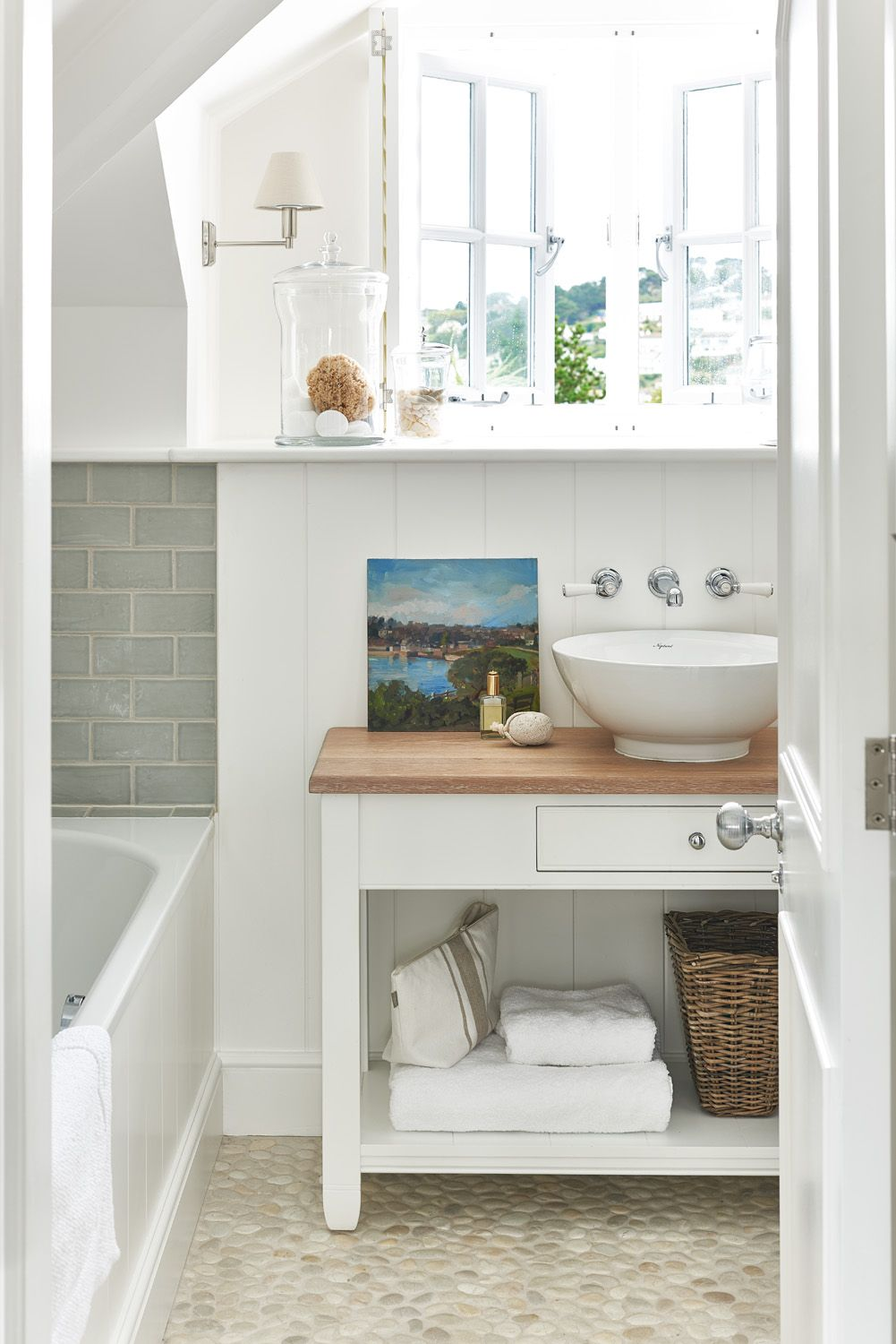 Pin by gina on beach | Pinterest | Bathroom designs, Coastal and ...