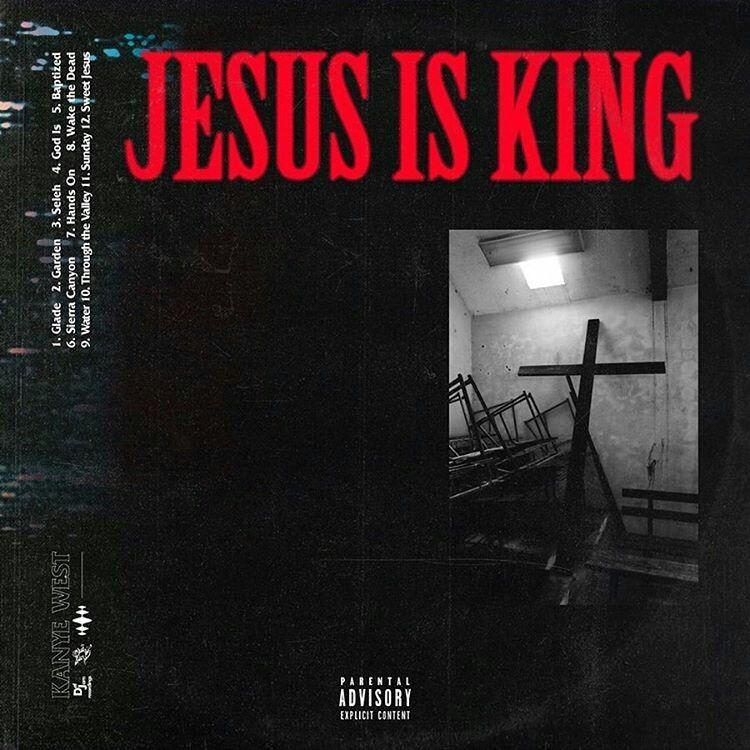 Kanye West Jesus Is King Kanye West Album Cover Kanye West Albums Album Cover Design