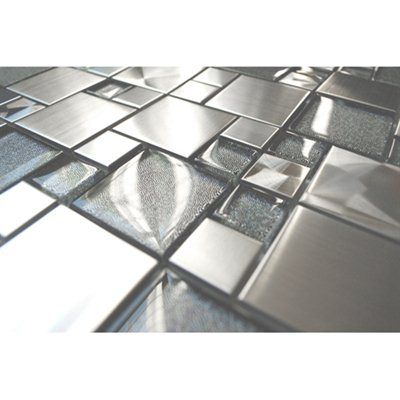 Cobble With Silver Gl Tile