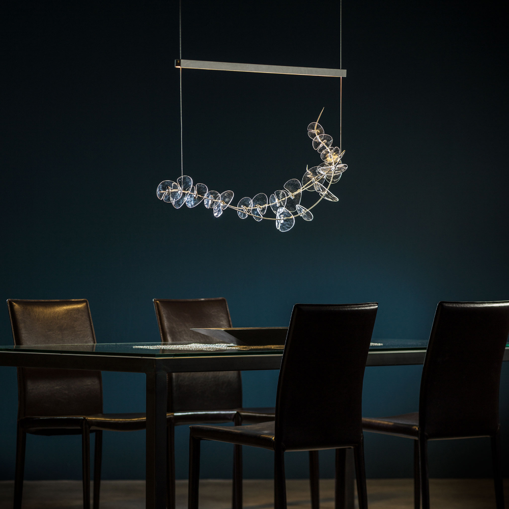 Lily Glass Linear Pendant by Hubbardton Forge | 139812-1022
