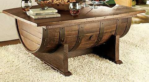 booze cask furnishings