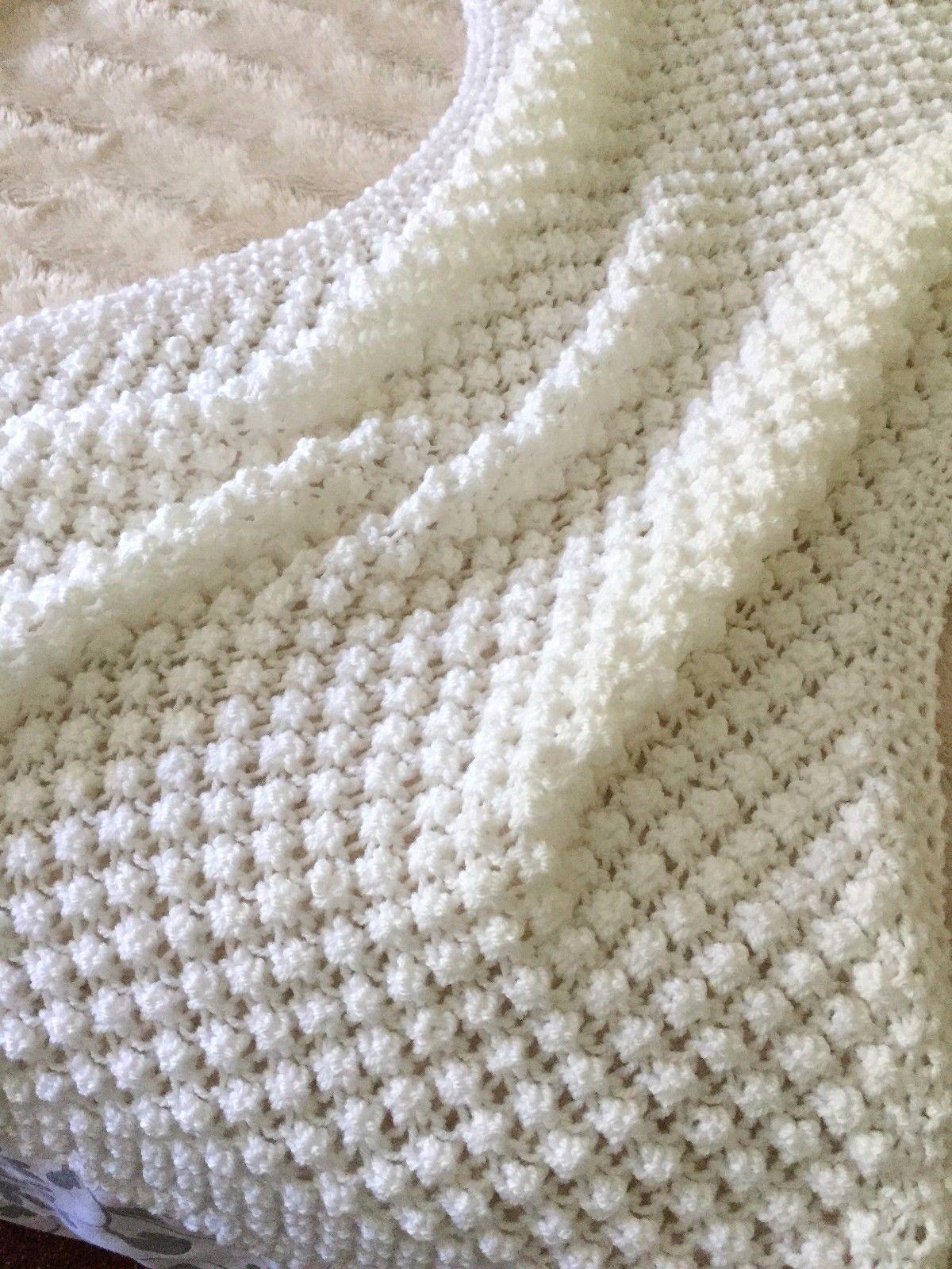 3.99 GBP - Knitting Pattern- Bobble\'s Baby Blanket #ebay #Home ...