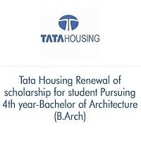 Tata Housing Renewal of scholarship for 4th year-Bachelor ...