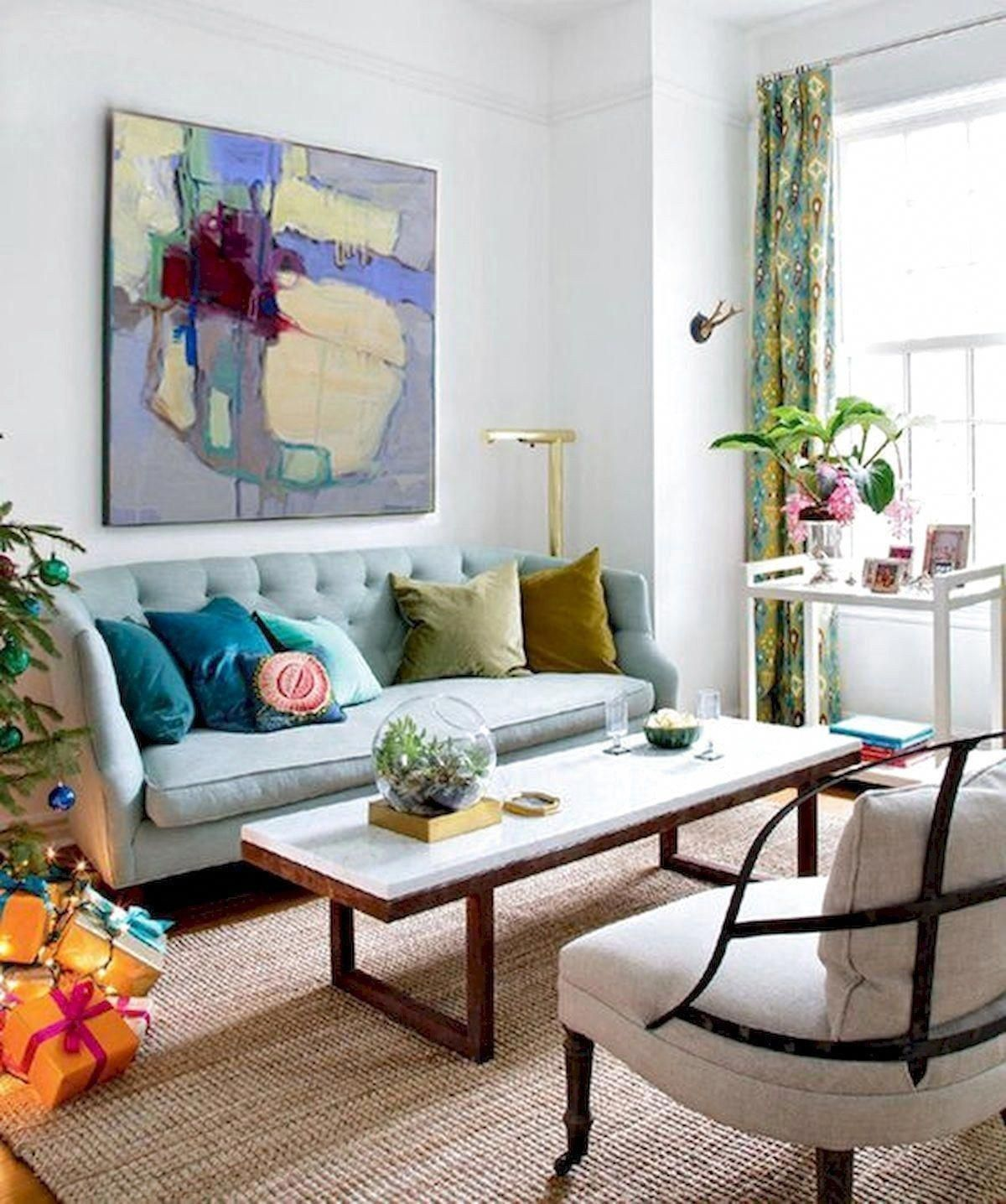 73 Eclectic Living Room Decor Ideas
