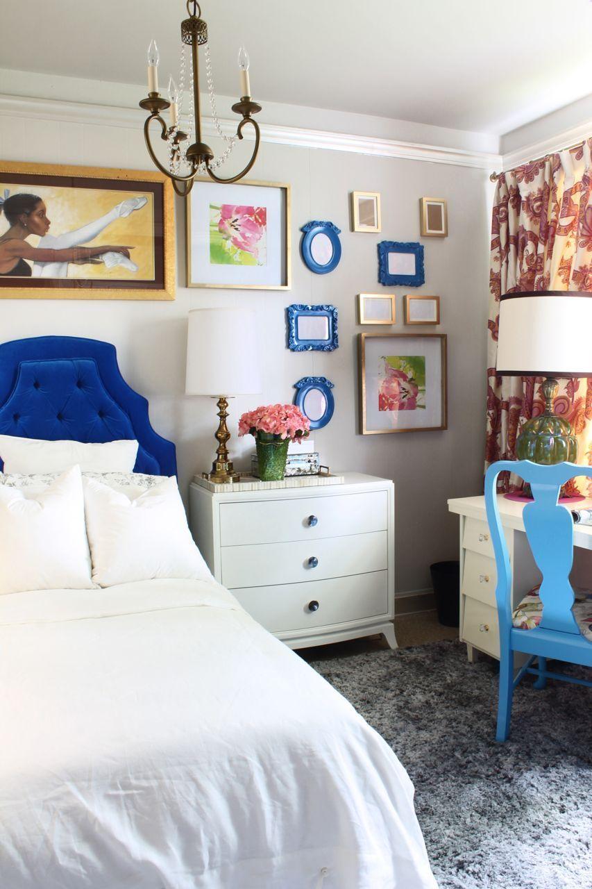 Glidden's Smooth Stone Master bedroom Dresser as