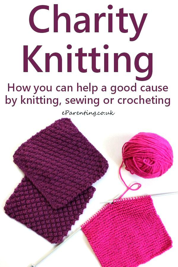 Charity Knitting - How to knit for Charity 2018 | Crafts | Knitting