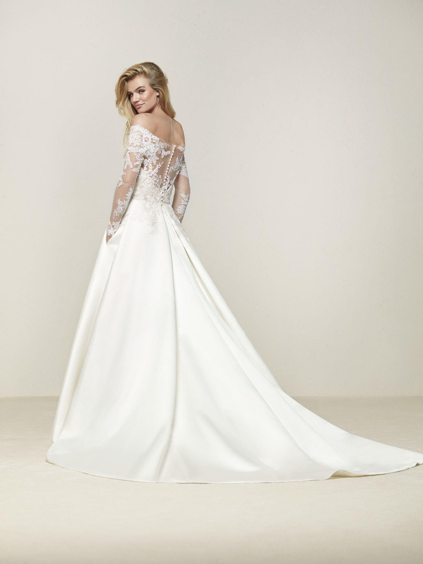 057bf3933c Vestido de novia talle a la cintura