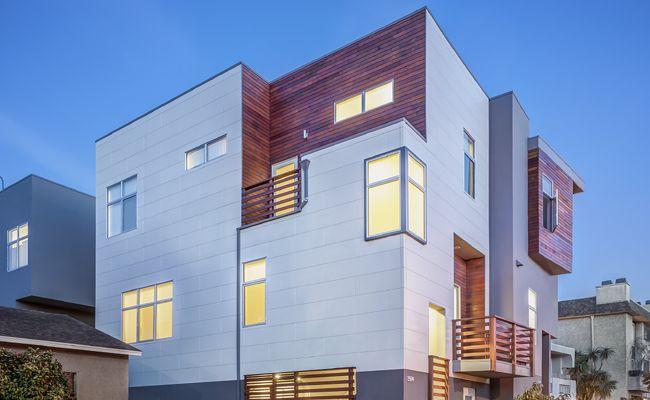 Nichiha Usa Inc Fiber Cement Building Products Modern Siding Options Modern House Exterior Modern Siding