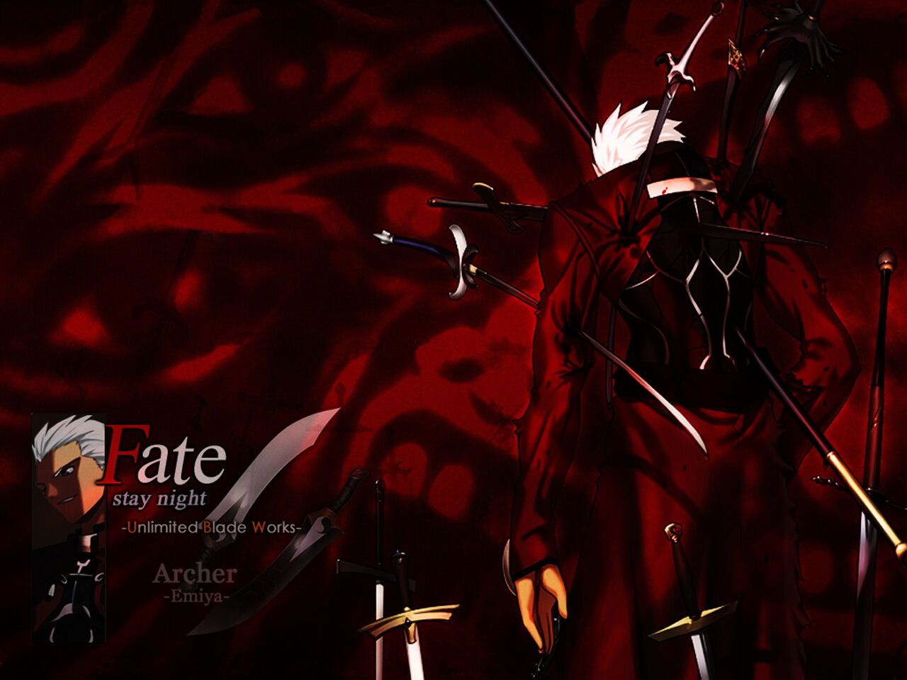 Anime Fate Stay Night Unlimited Blade Works Archer Wallpaper