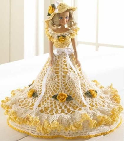 Fashion Doll Dress And Hat Doll Clothes Pinterest Dolls And
