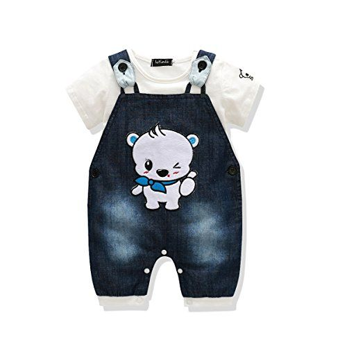 Cute Baby Boys Clothes Toddler Boys Romper Jumpsuit Overalls Stripe