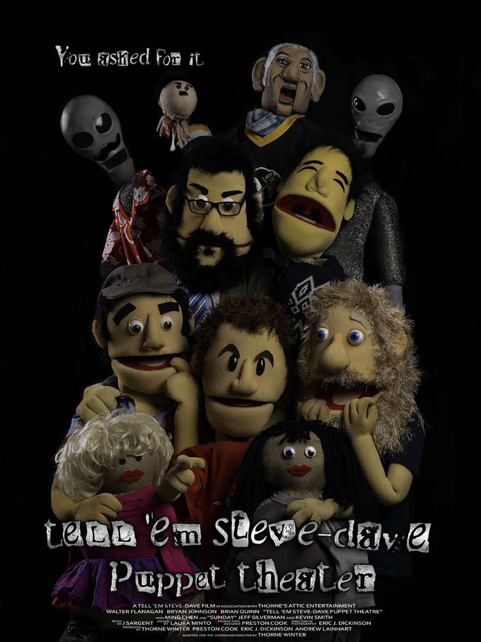 We made the 'Sunday Jeff' Puppet for the TESD Puppet