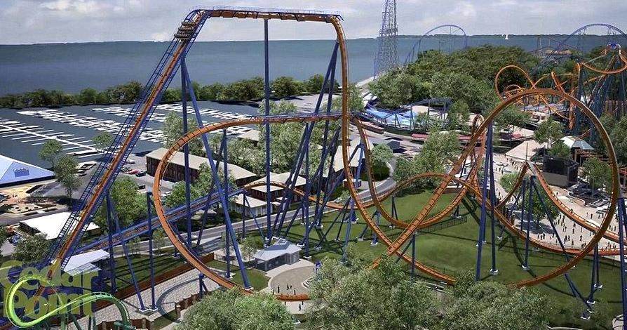 Cedar point will set a record for the most roller coasters