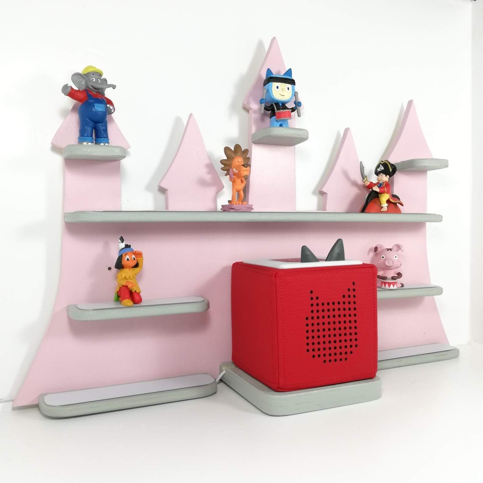 Tonie Board, Musikbox, Schloss rosa matt, perfekt f¨¹r die ...