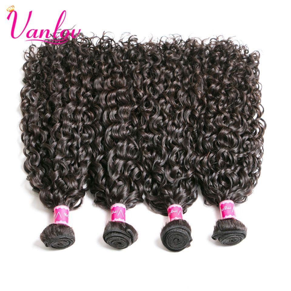 Vanlov brazilian water wave brazilian hair weave bundles human hair