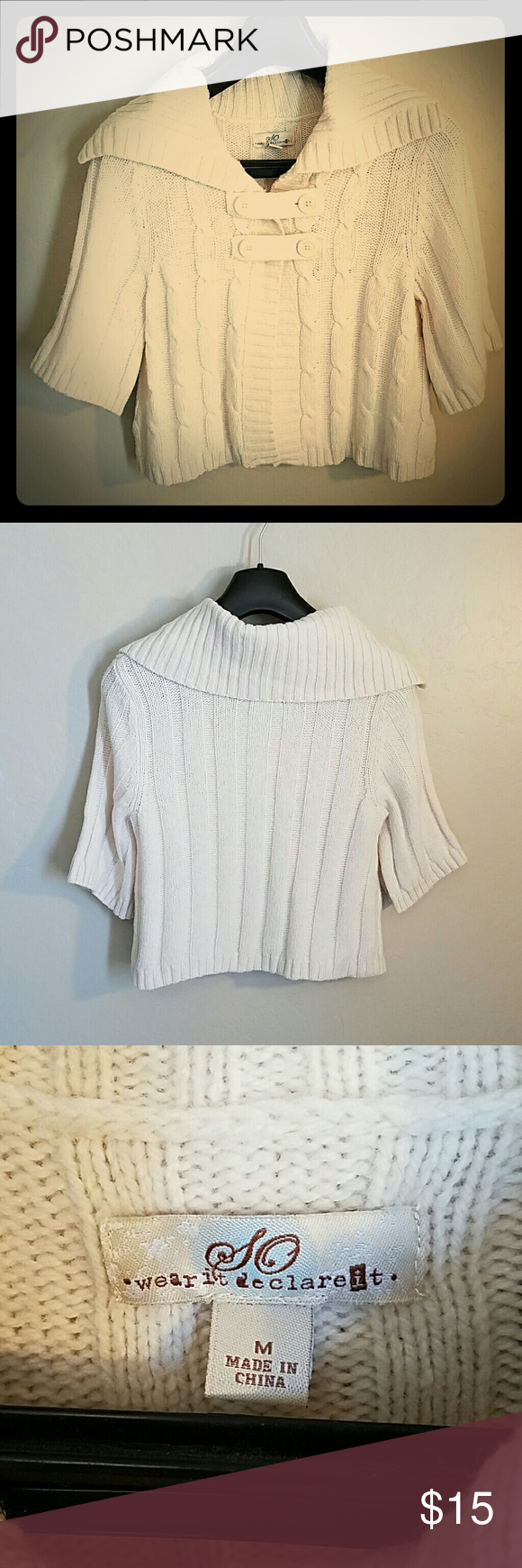 Knitted Crop Sweater | Conditioning