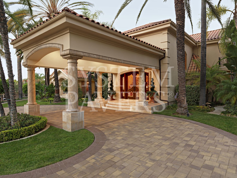 High Quality Courtyard Stone Sand Stone Mocha Holland Stone Mocha Border