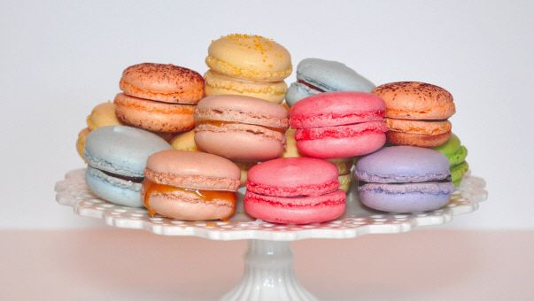 French macaroon - the prettiest cookie in my opinion.