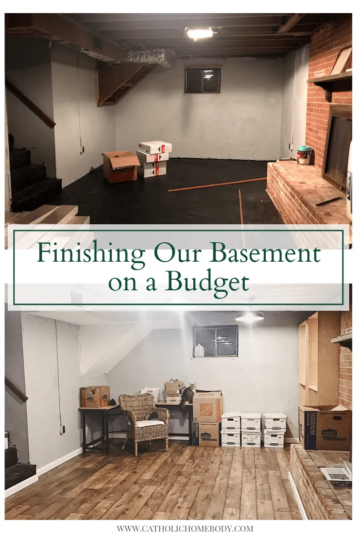 Finishing Our Basement on a Budget