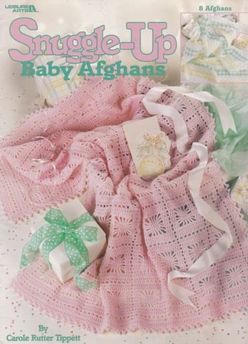 Snuggle-Up-Baby-Afghans-Leisure-Arts-Crochet-Pattern-Booklet-3205 ...