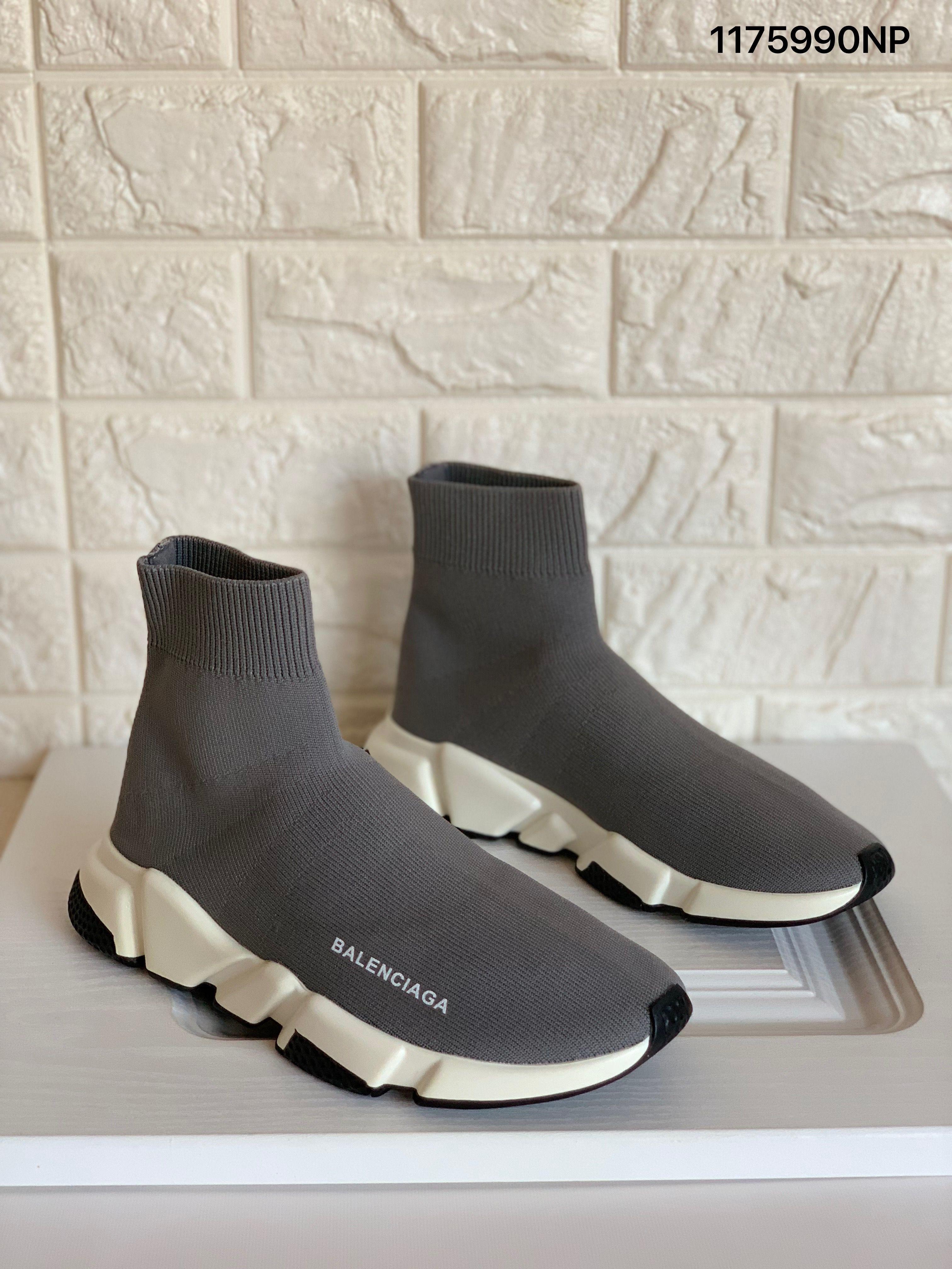 Balenciaga gray sock boots sneakers