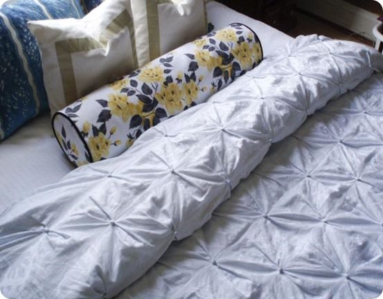Sew Your Own Pintuck Duvet Cover Knockoffdecor Com Diy Duvet Duvet Cover Diy Pintuck Duvet Cover