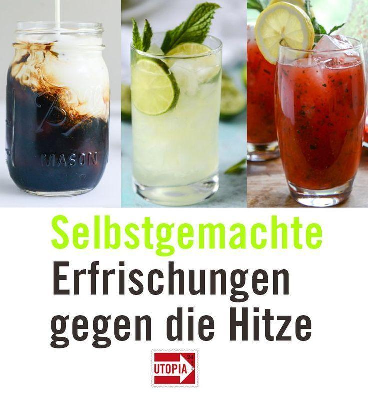 Sommer Rezept: 6 Rezepte für selbstgemachte Limonade, die besser ist als Cola, Nescafé & Co #homemadelemonaderecipes
