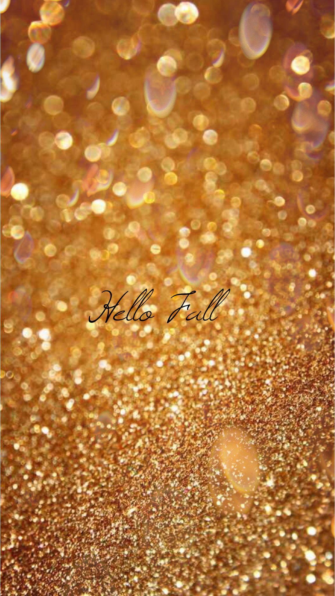 Glitter Gold Fall Iphone Wallpaper Pinterest Llexxus Fond D Ecran Paillette Fond D Ecran Telephone Fond D Ecran Whatsapp