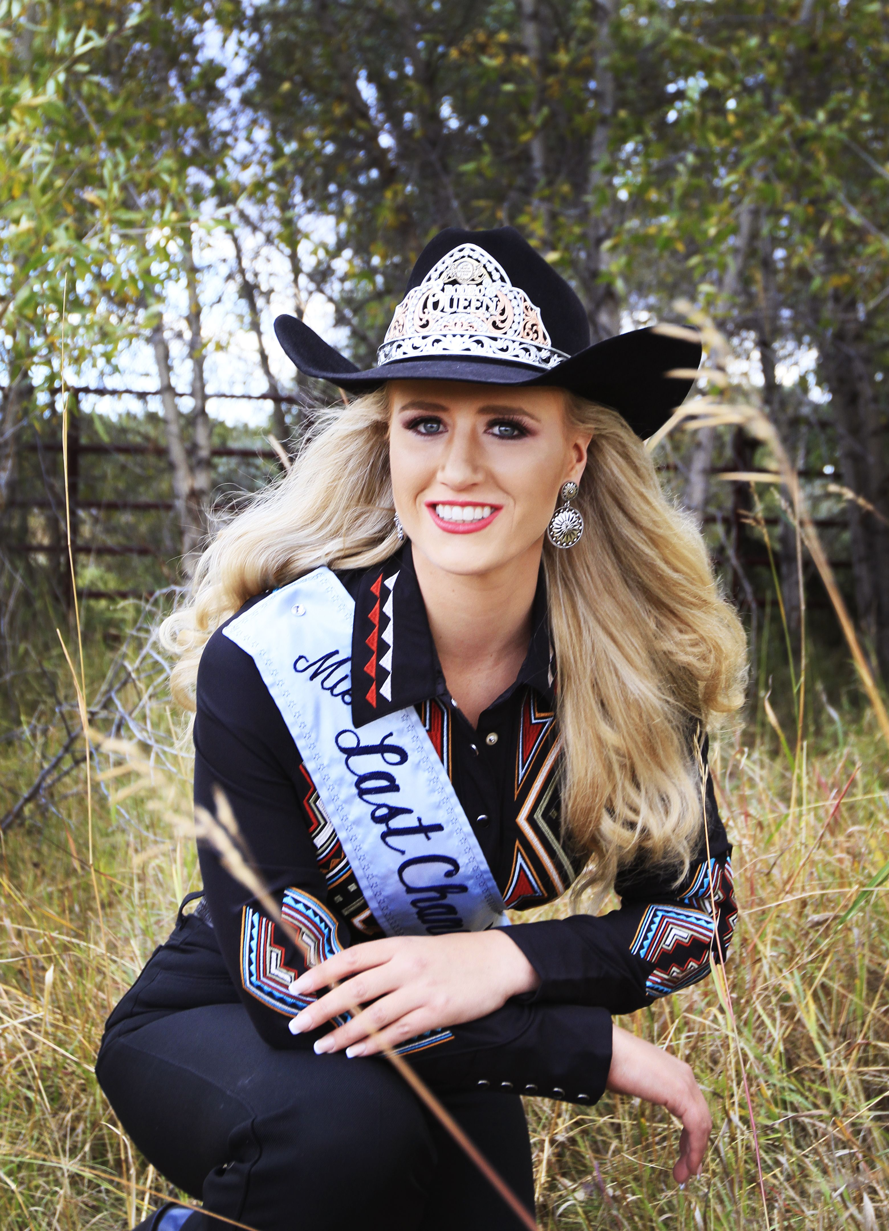 Kayla Seaman Is Competing For The Title Of Miss Rodeo