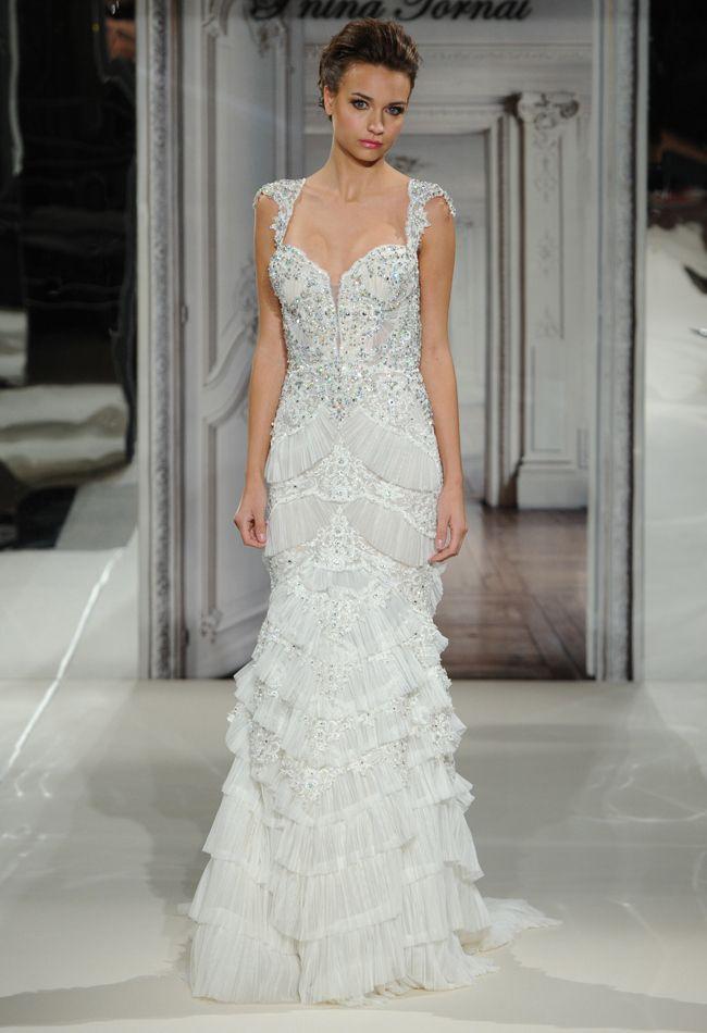 pnina tornai spring 2014 wedding dresses   pinterest   vestidos de