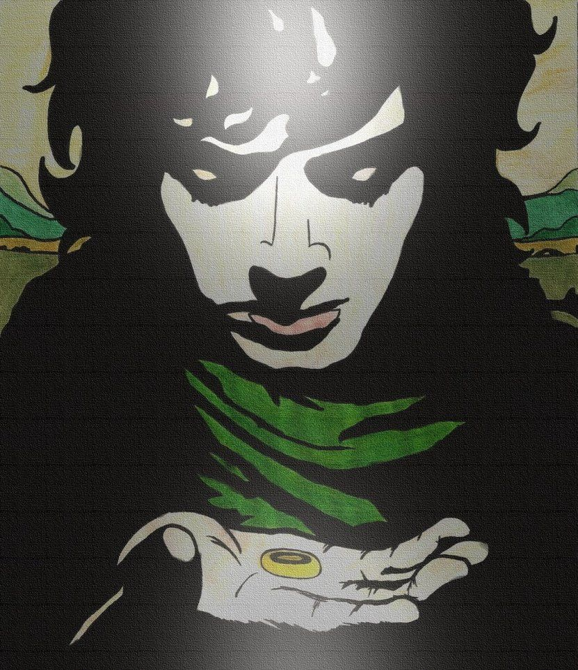 Frodo Baggins And The One Ring Art Drawings Art Inspiration