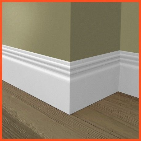 Mdf Skirting Boards Ripple 2 Pre Painted Skirting Mdf Skirting Baseboard Styles Skirting Boards
