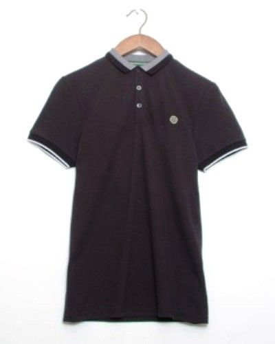 Nicholas Deakins Struck Polo Shirt Navy Mens